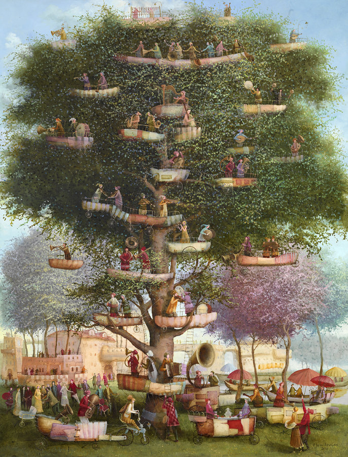 The tree of music